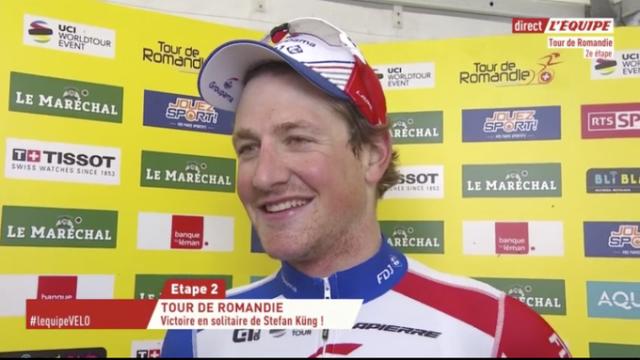 Стефан Кюнг – победитель 2 этапа Тура Романдии-2019