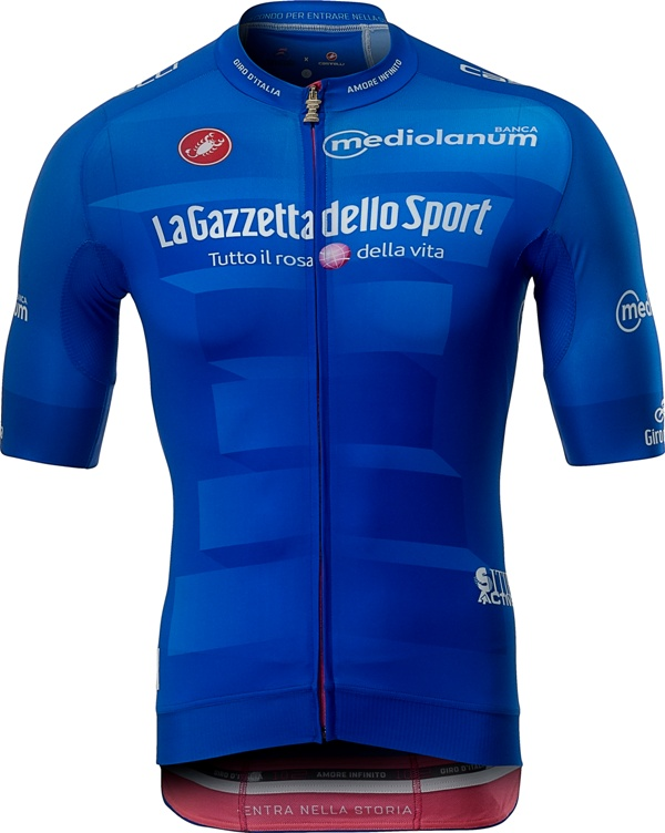 Джиро д'Италия-2019. Синяя майка. Превью