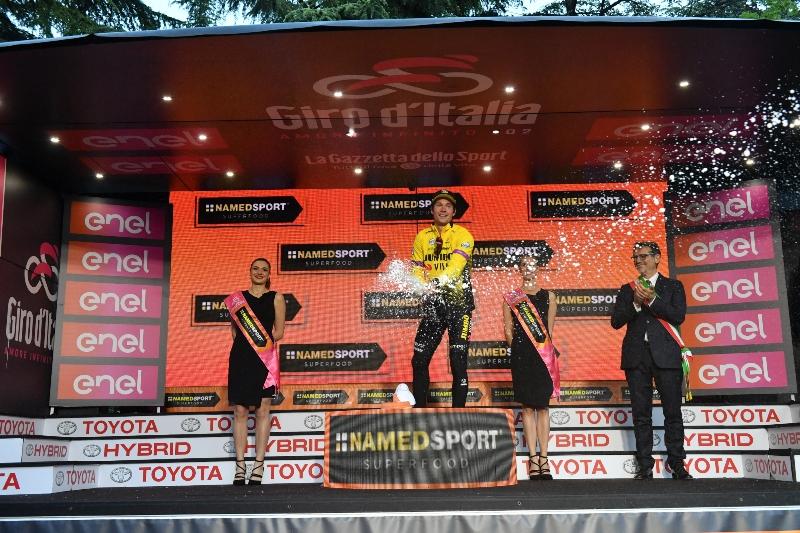 Примож Роглич, Саймон Йейтс, Винченцо Нибали, Мигель Лопес о 1-м этапе Джиро д'Италия-2019