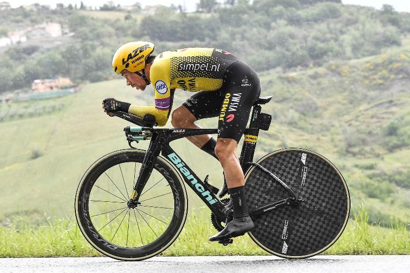 Дубль Приможа Роглича на разделках Джиро д'Италия-2019