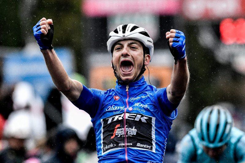 Джулио Чикконе побеждает на 16-м горном этапе Джиро д'Италия-2019, Ричард Карапас удерживает розовую майку лидера