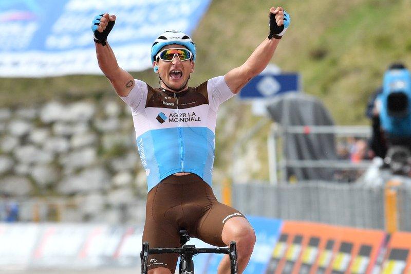 Нан Петер побеждает из отрыва на 17-м этапе Джиро д'Италия-2019