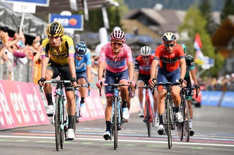 19-й этап Джиро д'Италия-2019 завершился победой гонщика из отрыва