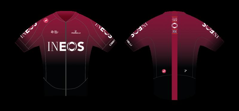 Официальный старт велокоманды INEOS