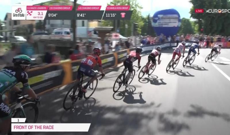 Чезаре Бенедетти – победитель 12 этапа Джиро д'Италия-2019