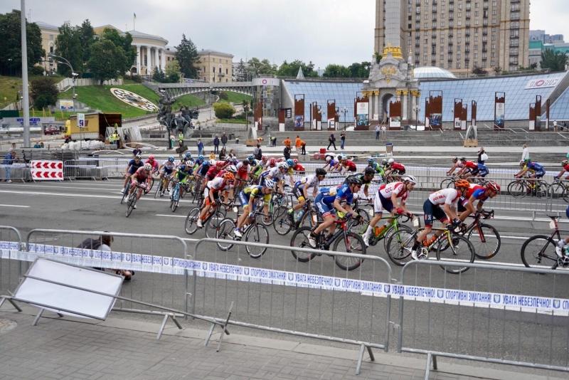 Три гонки Race Horizon Park прошли в центре Киева