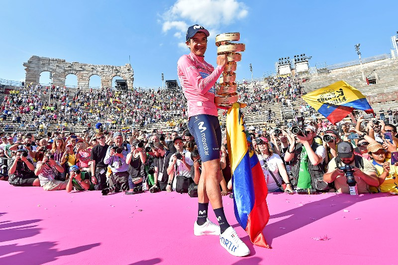 Победитель Джиро д'Италия-2019 Ричард Карапас может перейти в команду Ineos