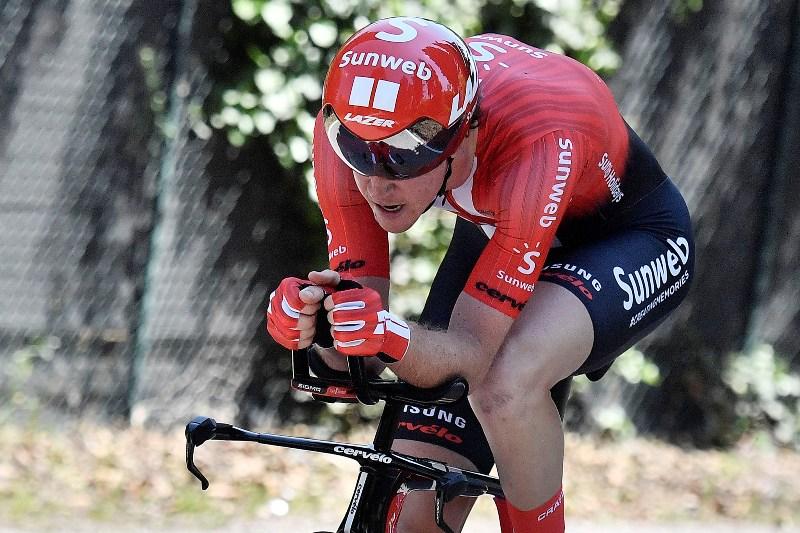 Чед Хага побеждает в финальной разделке на 21-м этапе Джиро д'Италия-2019