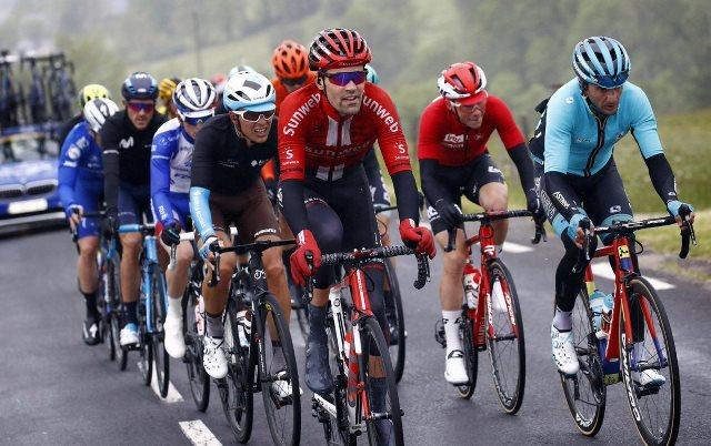 Том Дюмулин проверил свою форму в отрыве в на 2-м этапе Критериума Дофине-2019