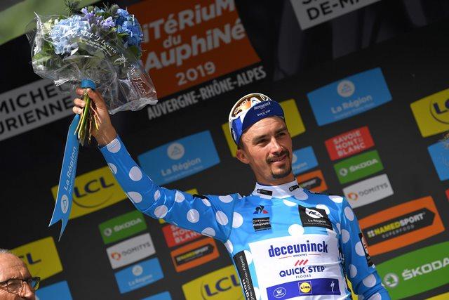 Жулиан Алафилипп – победитель 6 этапа Критериума Дофине-2019