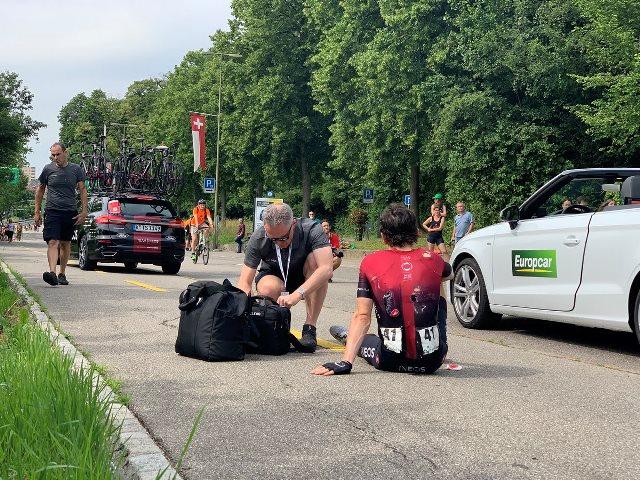 Герант Томас сошёл с Тура Швейцарии-2019 после падения на 4-м этапе
