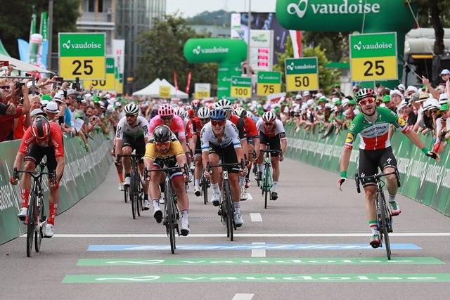Элиа Вивиани – победитель 4 этапа Тура Швейцарии-2019