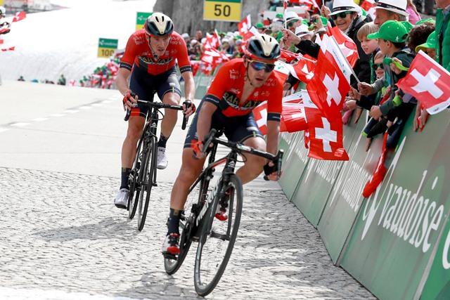 Эган Берналь – победитель 7 этапа Тура Швейцарии-2019