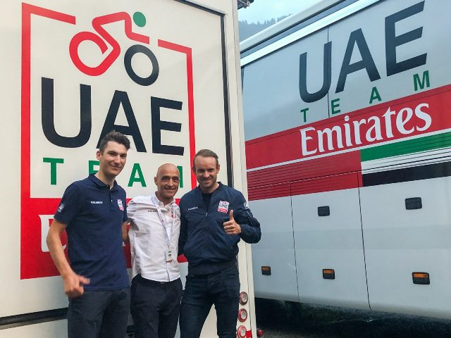 Александр Кристофф и Свен Эрик Бистрём продлили контракт с командой UAE Team Emirates