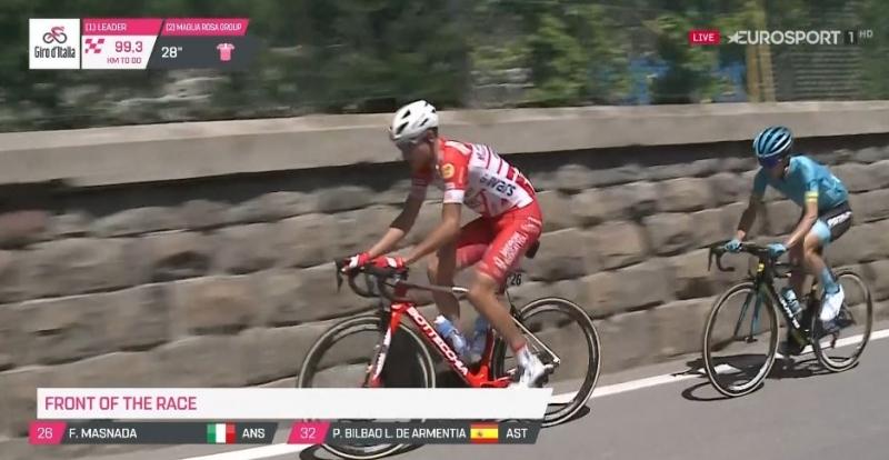 Пельо Бильбао – победитель 20 этапа Джиро д'Италия-2019