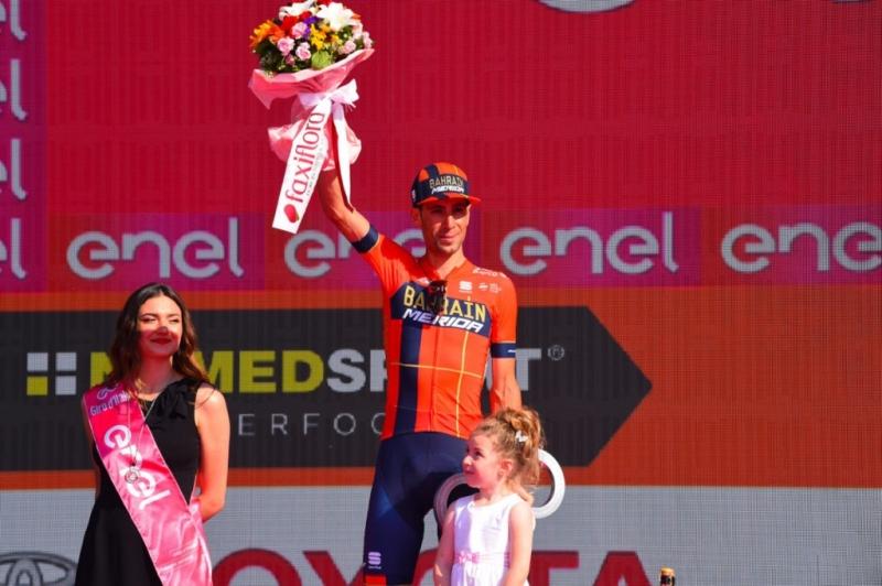 Винченцо Нибали призёр Джиро д'Италия-2019