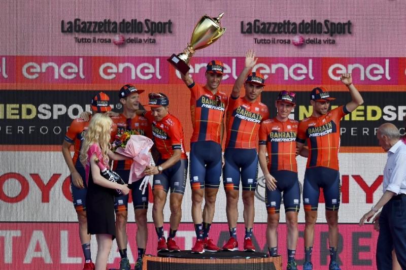 Велокоманда Bahrain-Merida по итогам Джиро д'Италия-2019 получила приз «честной игры»