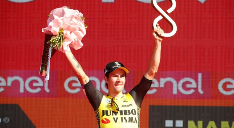 Примож Роглич – бронзовый призёр Джиро д'Италия-2019
