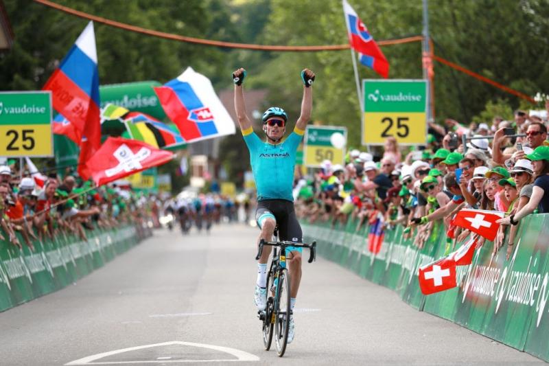 Луис Леон Санчес побеждает на 2-м этапе «Тура Швейцарии»-2019