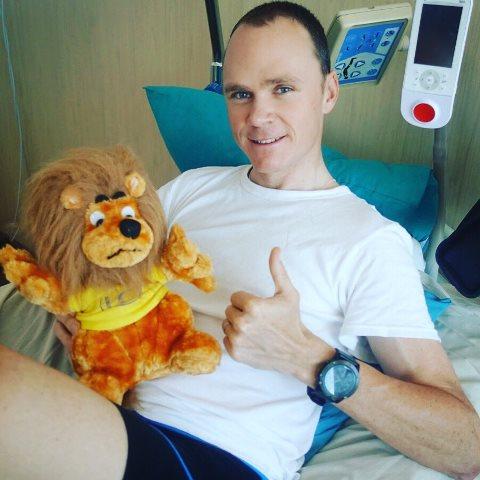 Крис Фрум выписан из больницы после падения на Критериуме Дофине-2019