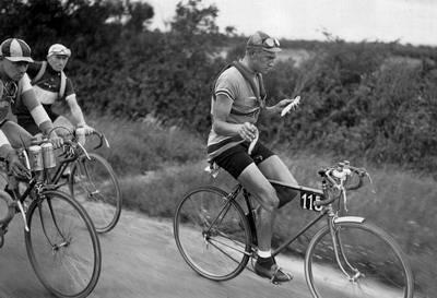 Один день в жёлтой майке лидера Тур де Франс: Макс Булла - Presse Sports