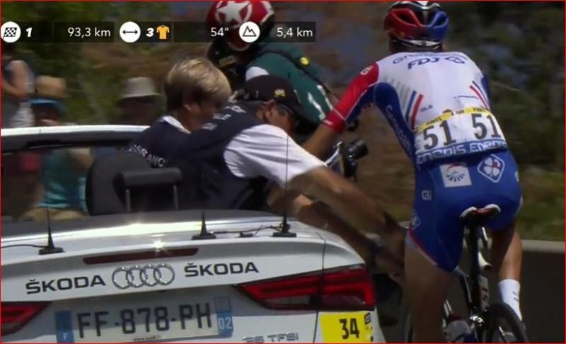 Тибо Пино не сможет тренироваться 20 дней после схода с Тур де Франс-2019