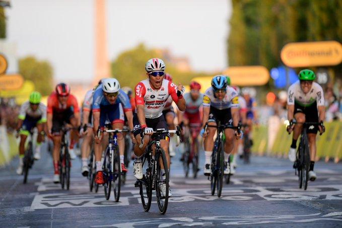 Хет-трик Калеба Юэна на Тур де Франс-2019