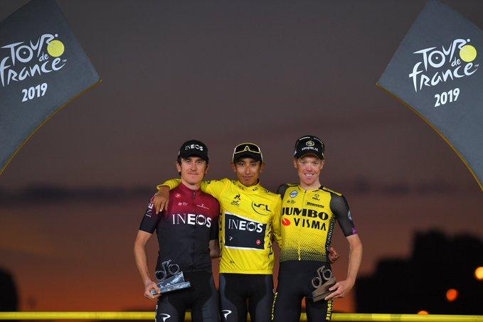 Герант Томас – призёр Тур де Франс-2019