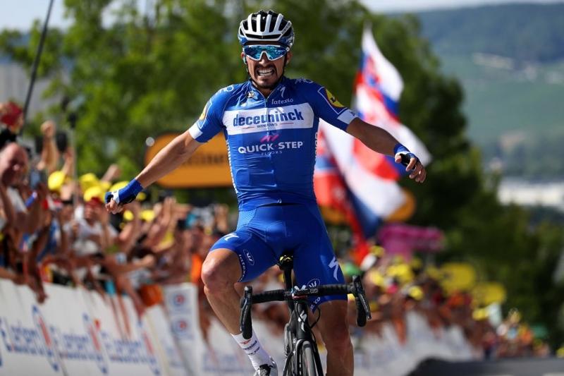 Жулиан Алафилипп – победитель 3 этапа Тур де Франс-2019