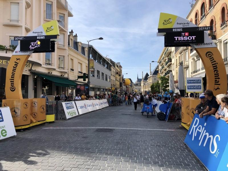 Компания Continental –  официальный партнёр Тур де Франс-2019
