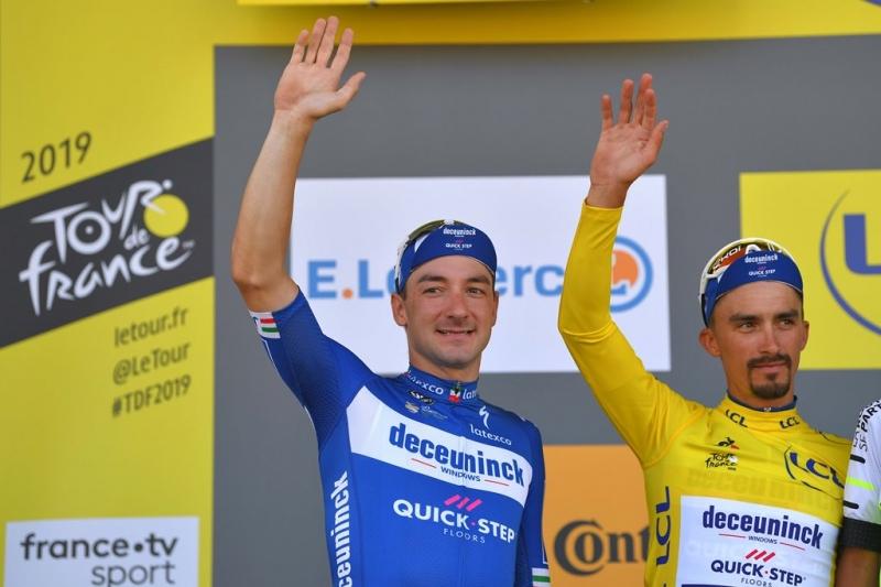 Элиа Вивиани – победитель 4 этапа Тур де Франс-2019