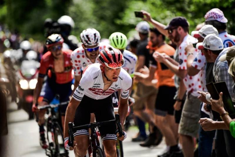 Джулио Чикконе – обладатель жёлтой майки после 6 этапа Тур де Франс-2019