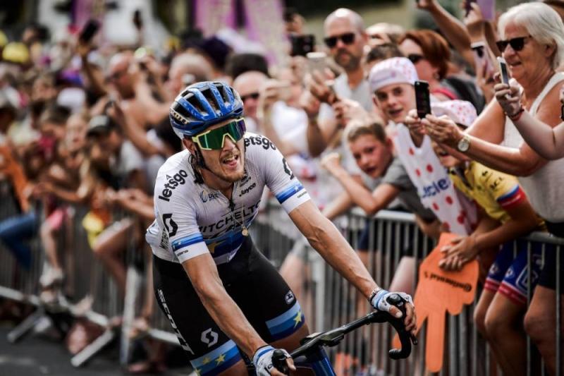 Чемпион Европы    - победитель 17 этапа Тур де Франс-2019