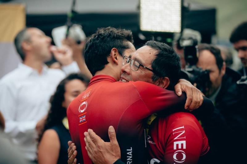 Эган Берналь - обладатель желтой майки лидера перед заключительным горным этапом на Тур де Франс-2019