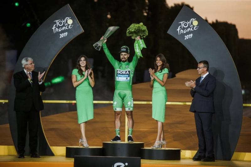 Петер Саган - семикратный победитель классификации по очкам Тур де Франс