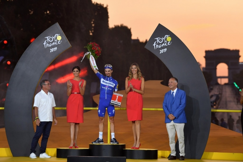Жулиан Алафилипп – самый агрессивный гонщик Тур де Франс-2019