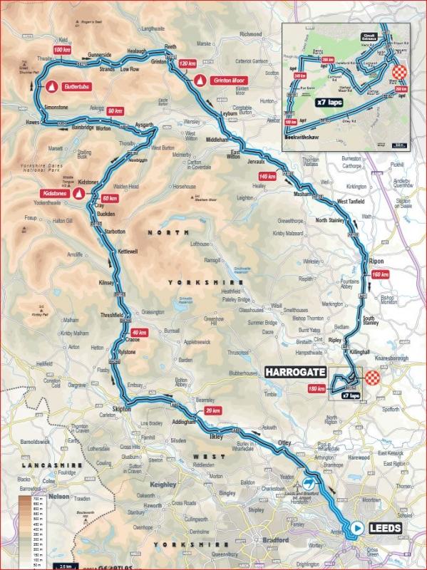 В Йоркшире разрушен мост, входящий в маршрут групповой гонки чемпионата мира по велоспорту на шоссе-2019
