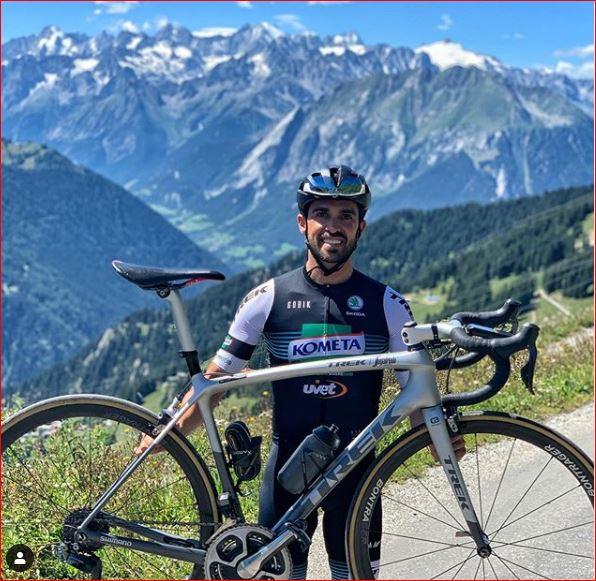 Альберто Контадор побил собственный рекорд высоты подъема в гонке на выносливость в Альпах