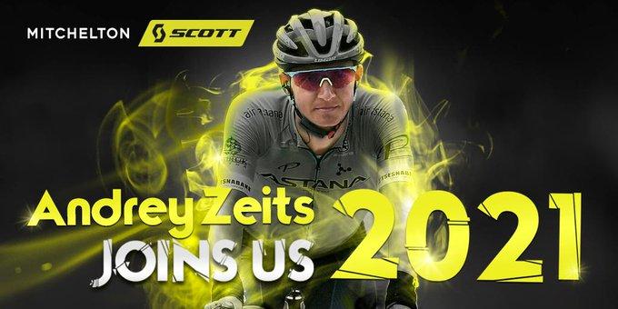 Андрей Зейц переходит в команду Mitchelton-Scott