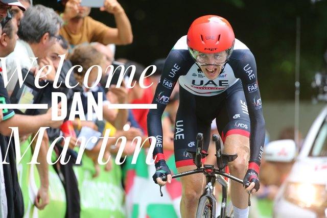 Дэн Мартин переходит в команду Israel Cycling Academy