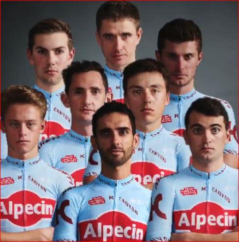 Состав команды Katusha-Alpecin на Вуэльту Испании-2019