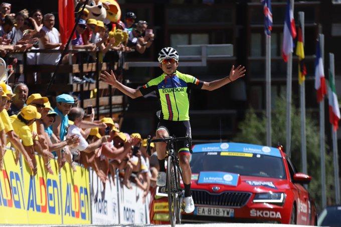 Джефферсон Сепеда начнёт карьеру профессионального гонщика в Androni Giocattoli-Sidermec