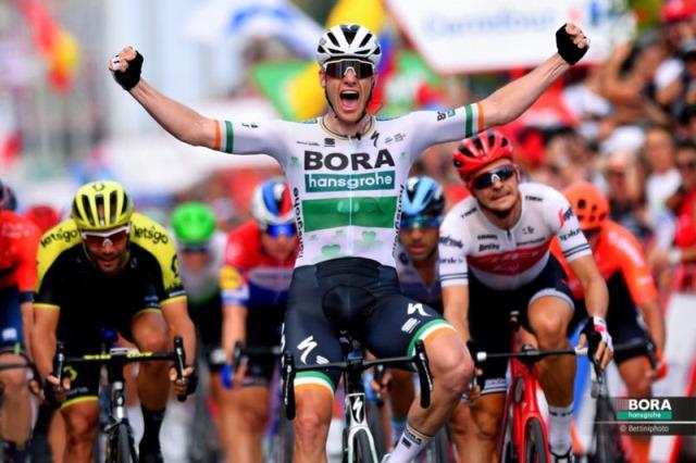 Сэм Беннетт – победитель 3 этапа Вуэльты Испании-2019