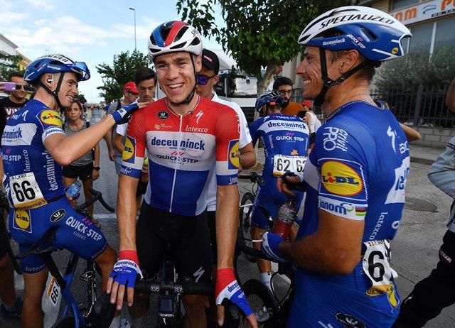 Фабио Якобсен – победитель 4 этапа Вуэльты Испании-2019