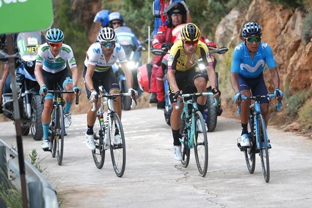 Алехандро Вальверде, Наиро Кинтана, Примож Роглич о 7-м этапе Вуэльты Испании-2019