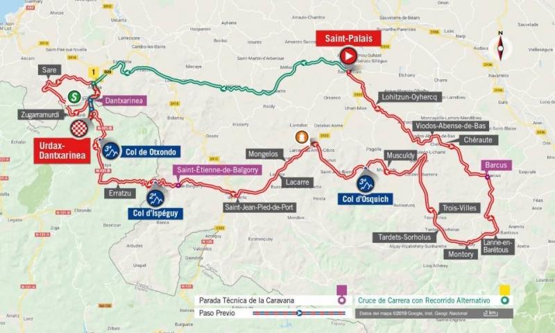 Вуэльта Испании-2019, превью этапов: 11 этап, Сен-Пале - Урдакс-Данчаринеа