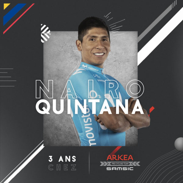 Наиро Кинтана переходит в команду Arkea-Samsic