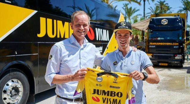 Примож Роглич продлил контракт с командой Jumbo-Visma до 2023 года