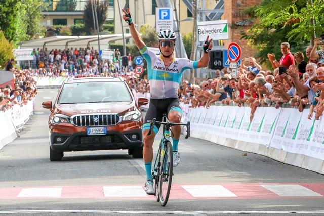 Алексей Луценко одерживает красивую сольную победу на «Коппа Сабатини»