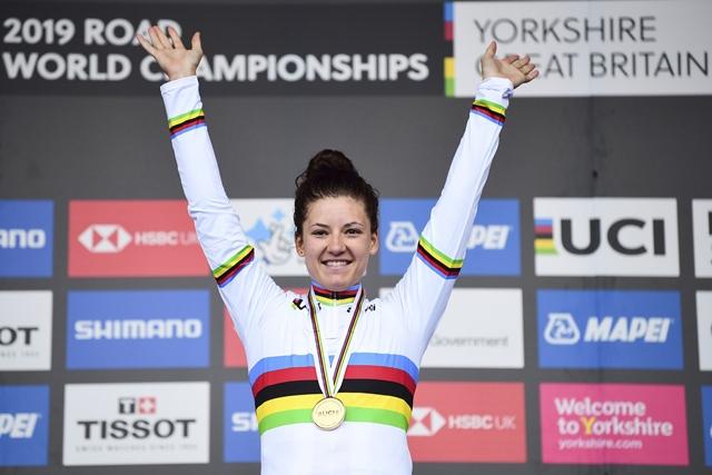 Хлоэ Дайгерт – чемпионка мира по велоспорту-2019 в индивидуальной гонке на время